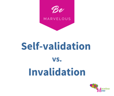 self validation blog post by marvelous minds