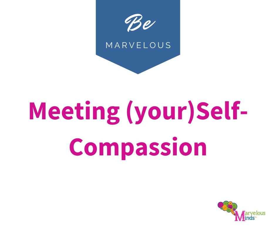 Self Compassion post image.