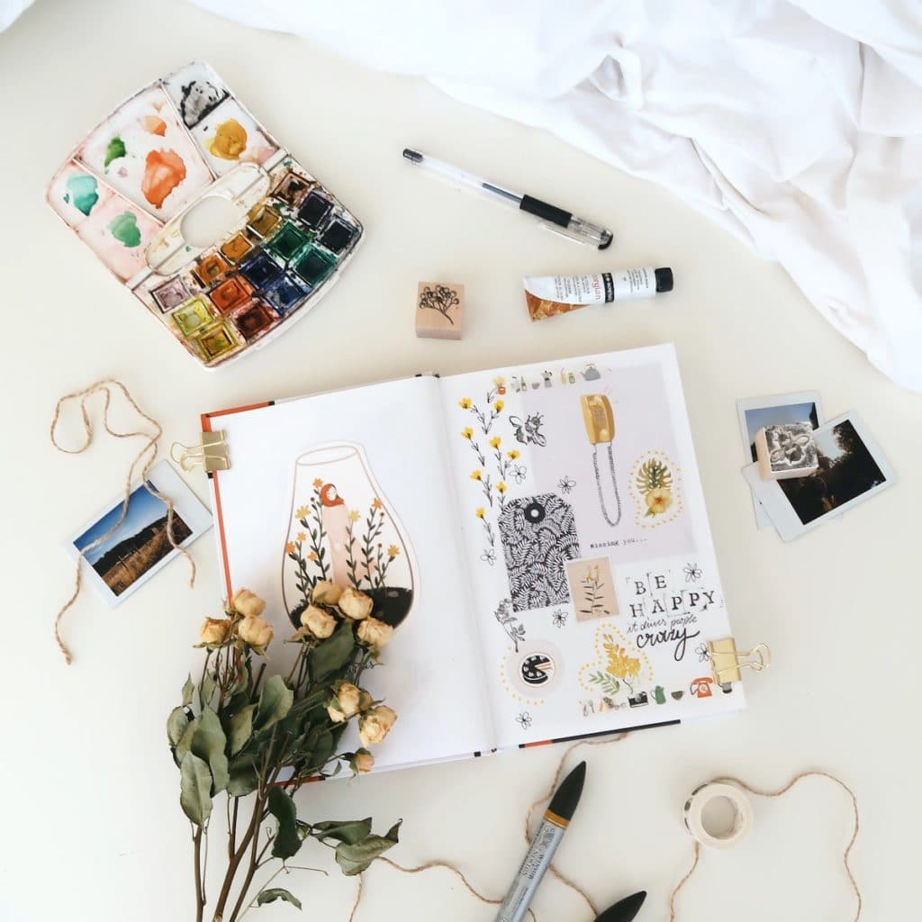 The Visual Journaling Therapist 30-day challenge